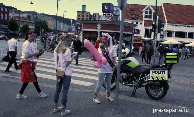 Секс в европе в общественных местах